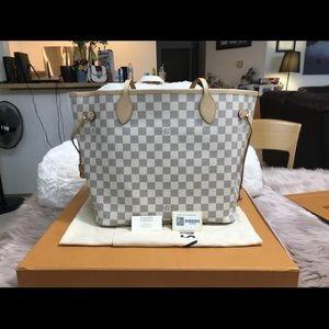 Louis Vuitton Neverfull MM Damier Azur R. Bal